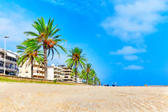 Beach in Spain. Royalty Free Stock Image