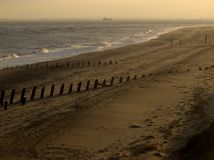 Beach, Spurn Point Royalty Free Stock Images
