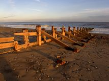 Beach, Spurn Point Royalty Free Stock Photography