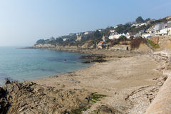 Beach at St Mawes Cornwall UK Roseland Peninsula Stock Images