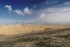 Beach of St. Peter-Ording. In Germany Stock Photos