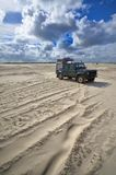 Beach of St. Peter Ording, Germany Royalty Free Stock Photo