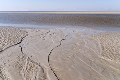 Beach of St. Peter-Ording Stock Images
