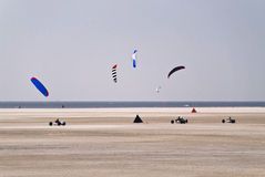 Beach of St. Peter-Ording Royalty Free Stock Photo