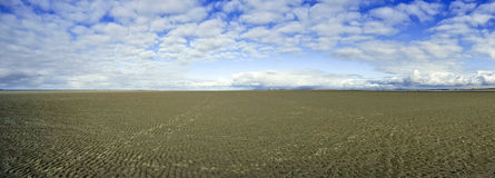 On the Beach of St. Peter-Ording Royalty Free Stock Photos