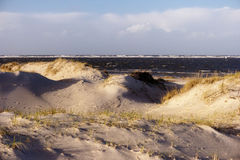 On the beach of St. Peter-Ording Royalty Free Stock Photography