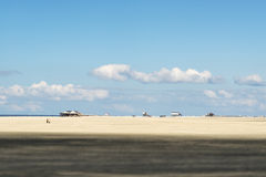 Beach St. Peter Ording Royalty Free Stock Image