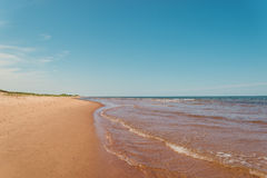 Beach at St. Peters Bay on the northern shore of Prince Edward I Stock Photography