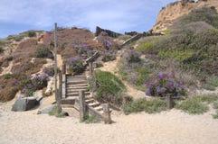 Beach Staircase Stock Photo
