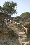 Beach Staircase Stock Photos