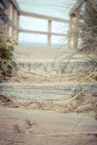 Beach Steps Royalty Free Stock Photography