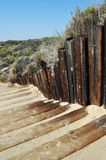 Beach Steps to Crystal Cove, Newport Beach Stock Photos