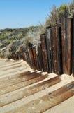 Beach Steps to Crystal Cove, Newport Beach Stock Photos