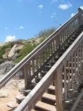Beach Steps Royalty Free Stock Images