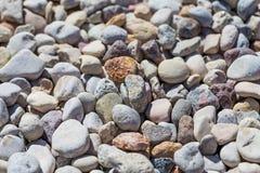 Beach stone background Stock Photo