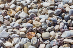 Beach stone background Royalty Free Stock Photography