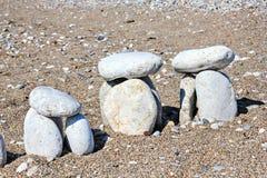 Beach stonehenge Royalty Free Stock Images