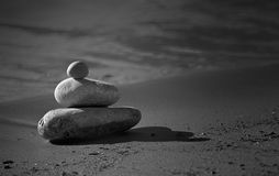 Beach stones Royalty Free Stock Photos