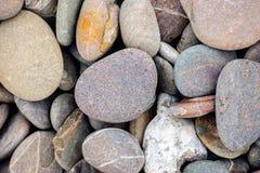 Beach stones background Stock Image