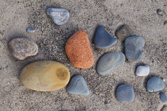 Beach stones Stock Photography