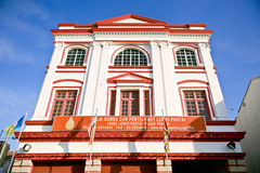 Beach Street Fire Station, George Town, Penang, Malaysia. The Beach Street Fire Station, also known as the Central Fire Station or Malay Balai Bomba dan Royalty Free Stock Photos