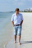 Beach Stroll stock image
