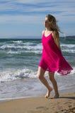 Beach stroll Stock Photography