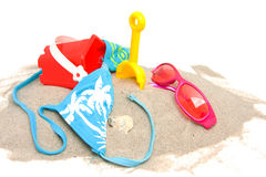 Beach stuff Stock Images