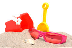 Beach stuff Stock Image