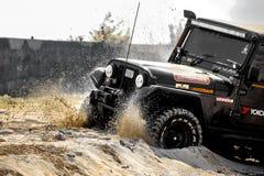 Free Beach Stund Jeep Thar Sand Offroad Stock Image - 179274191
