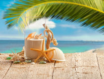 Beach style decoration Royalty Free Stock Photography