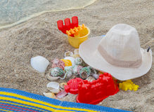Beach and summer Royalty Free Stock Photo