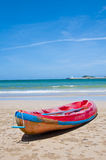 Beach in summer day Stock Photography