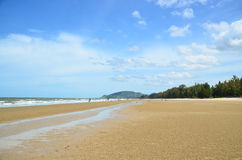 The beach. Summer day on the beach in Thailand Royalty Free Stock Photography