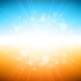 Beach Summer Holiday Background stock photography