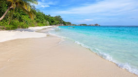 Beach in summer of Thailand royalty free stock images