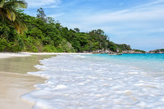 Beach in summer of Thailand stock photography