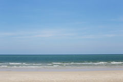 The beach on summer, thailand Royalty Free Stock Images