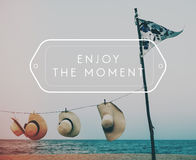 Beach Summer Travel Vacation Concept Stock Image