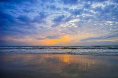 Beach sun rise Royalty Free Stock Image