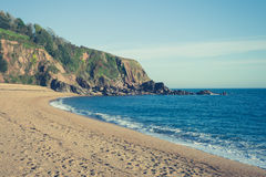 Beach on sunny day Royalty Free Stock Photography