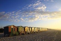 Beach sunrise Stock Images