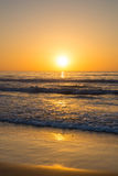 Beach sunrise Stock Photography