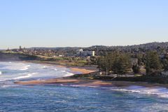 Bongin Bay Australia with Mona Vale beach Royalty Free Stock Photo