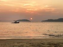 Beach_sunset Imágenes de archivo libres de regalías