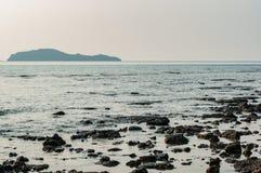 Beach at Sunset. Chumporn, Thailand Stock Photography