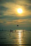 Beach sunset Royalty Free Stock Photo