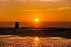 Beach sunset Royalty Free Stock Photography