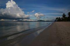 Beach at sunset. Koh Mook. Thailand Royalty Free Stock Photos