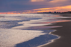 Beach Sunset Outer Banks OBX North Carolina USA Royalty Free Stock Image
